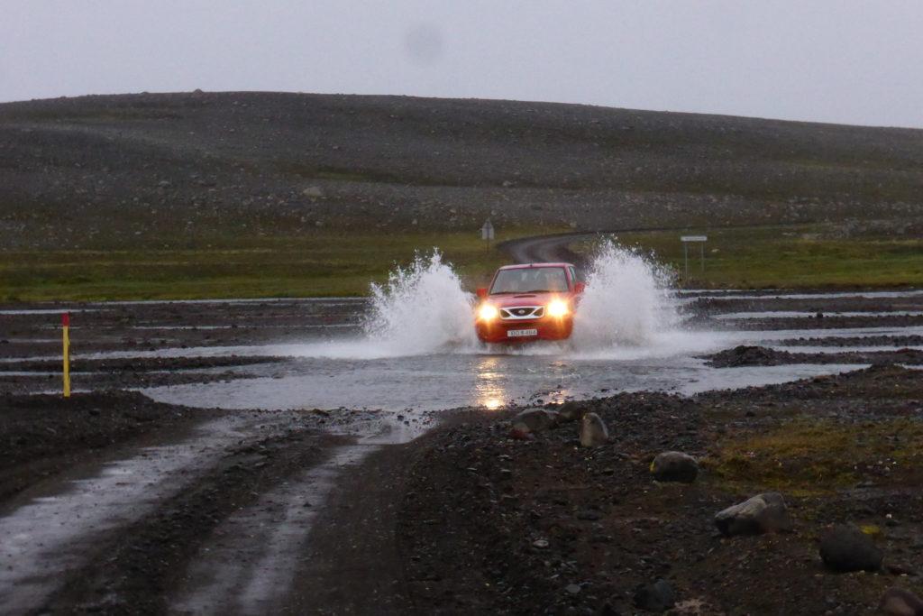 przeprawa przez rzeki islandia