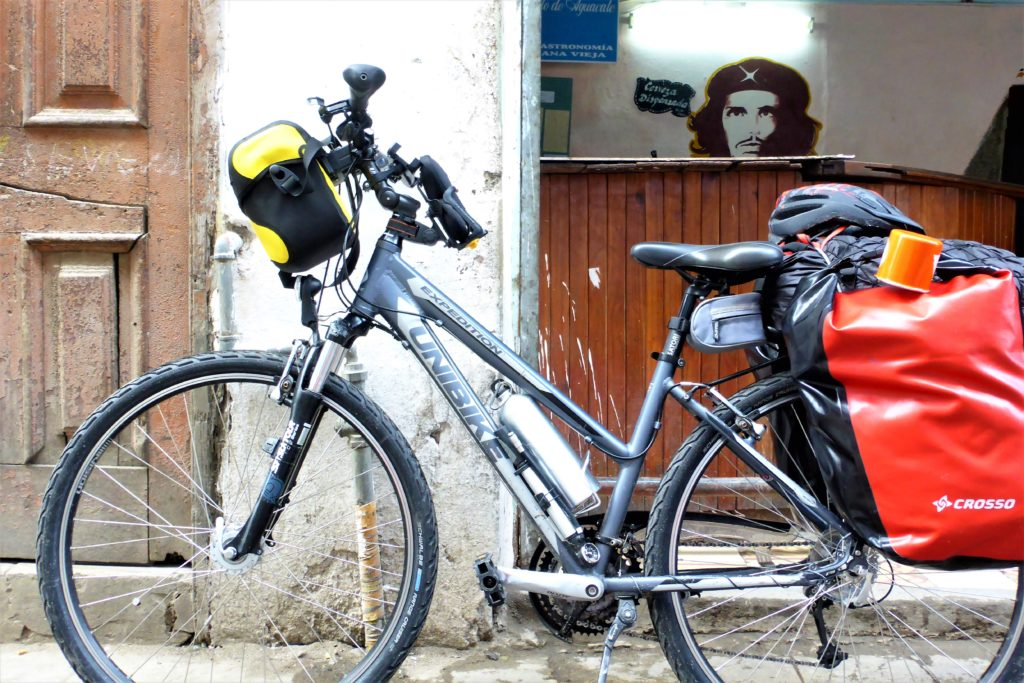 rower na wyprawę