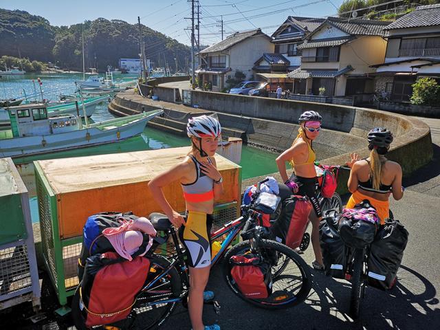japonia rowerem
