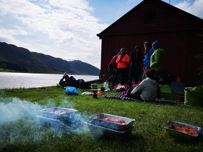 grill w norwegii