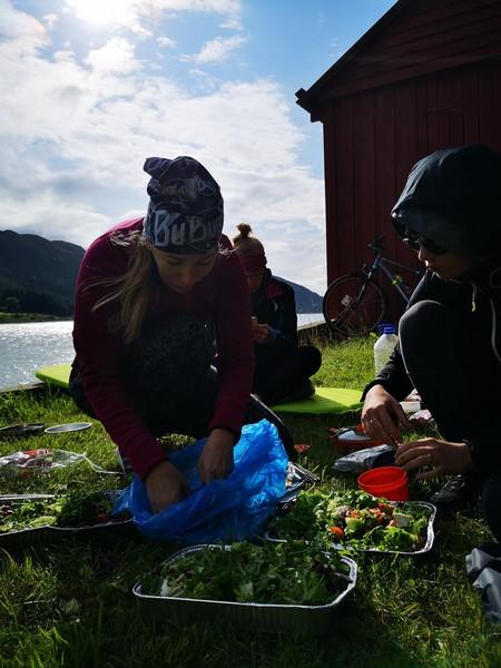 gotowanie polowe w norwegii