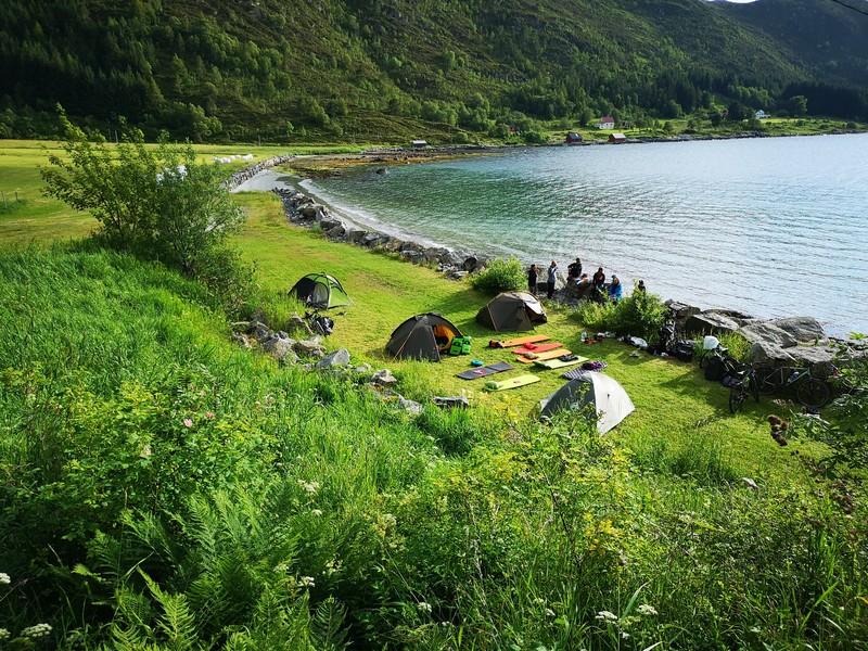 spanie na dziko norwegia