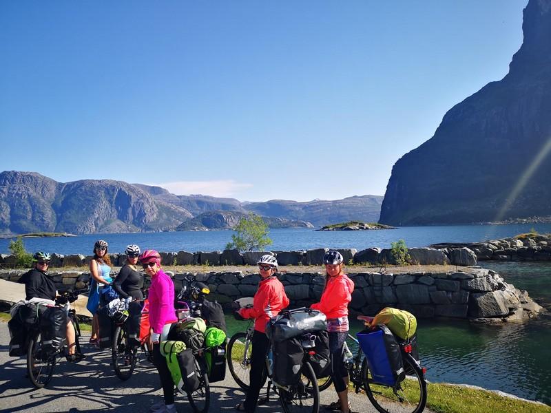 norwegia na rowerze