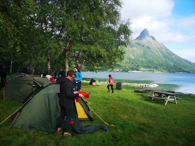 spanie w porcie norwegia