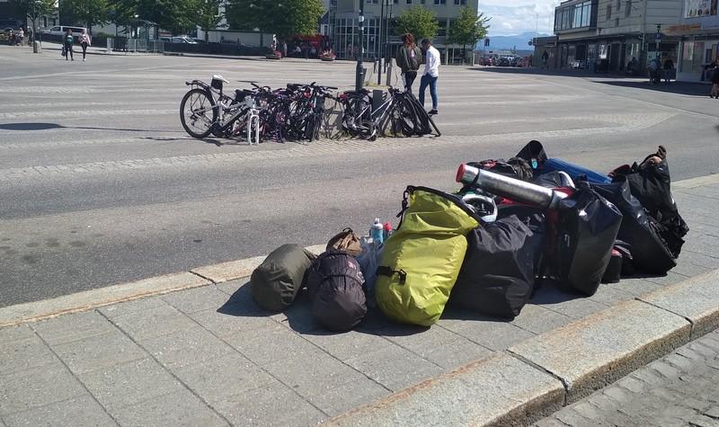 przewóz rowerów autobusem norwegia